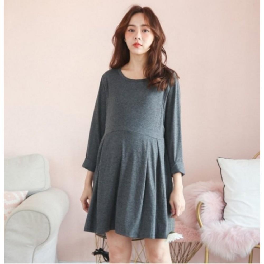 哺乳裝【B2150GU】 寬鬆 親膚 大碼孕婦連衣裙