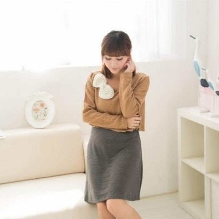 秋冬哺乳裙 【BFC033AL】 厚款 孕婦裝 毛衣 哺乳裙 針織洋裝 哺乳衣