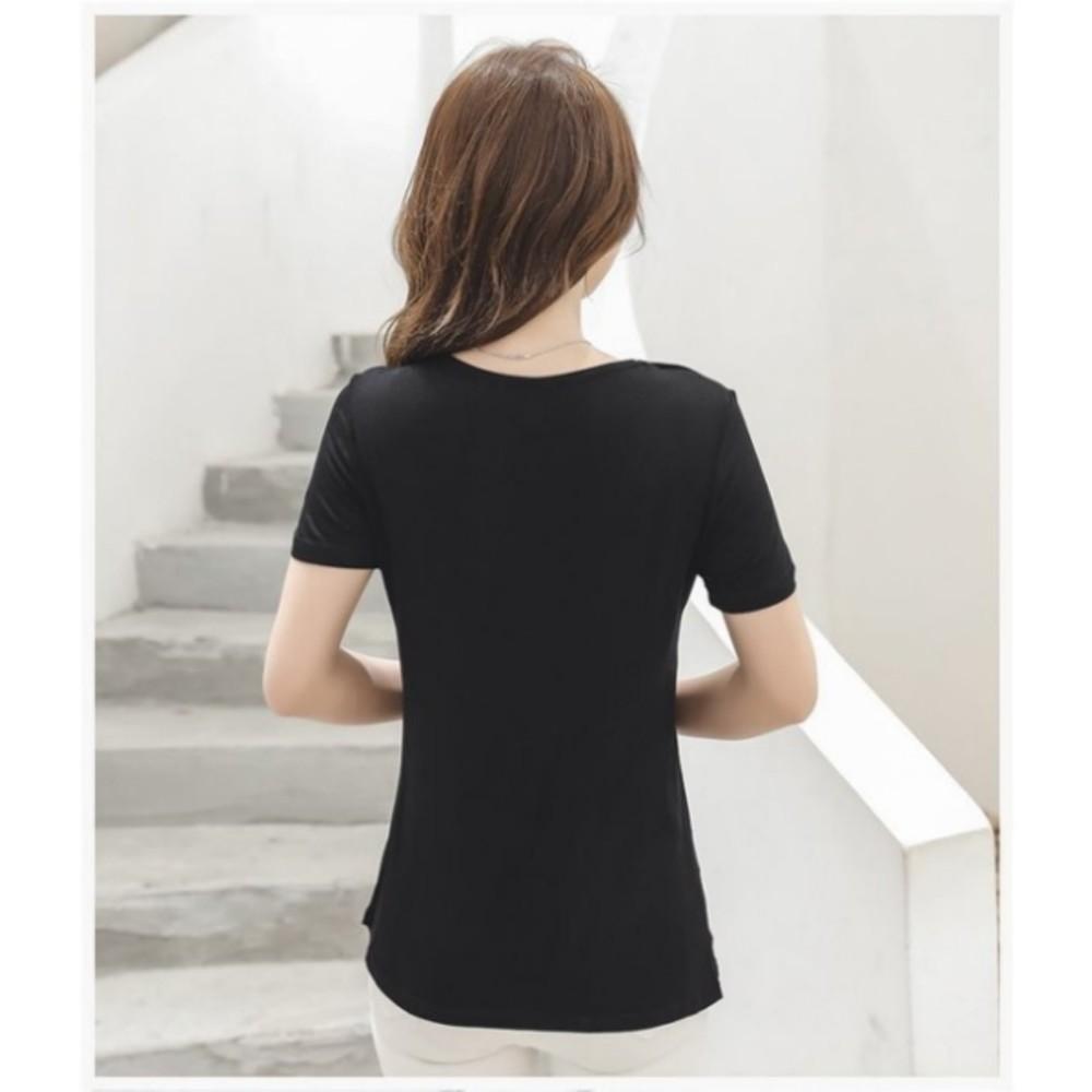 超柔 哺乳衣 【BFC1120H】 莫代爾 輕薄 透涼 短袖 哺乳棉T恤 哺乳裝 孕婦裝