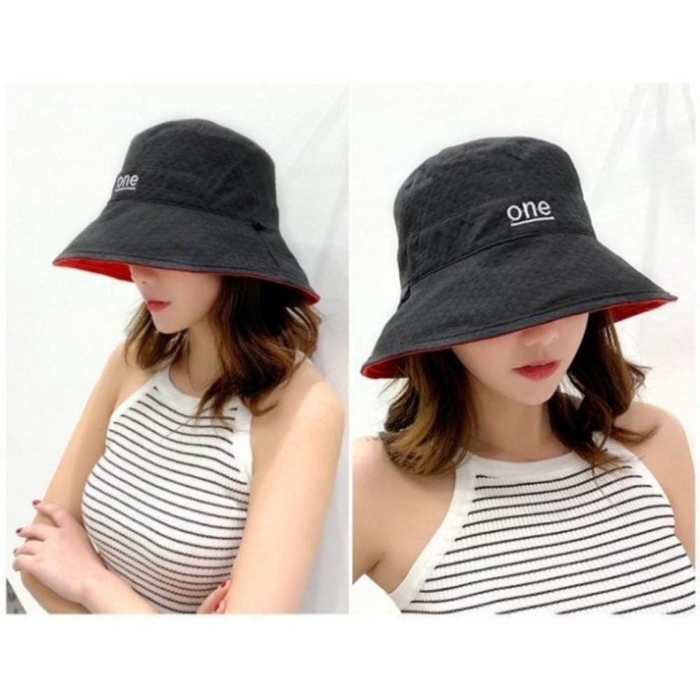 韓系 質感 雙色帽 漁夫帽【BW0410】 遮陽帽 女性 成人 防曬 大帽檐