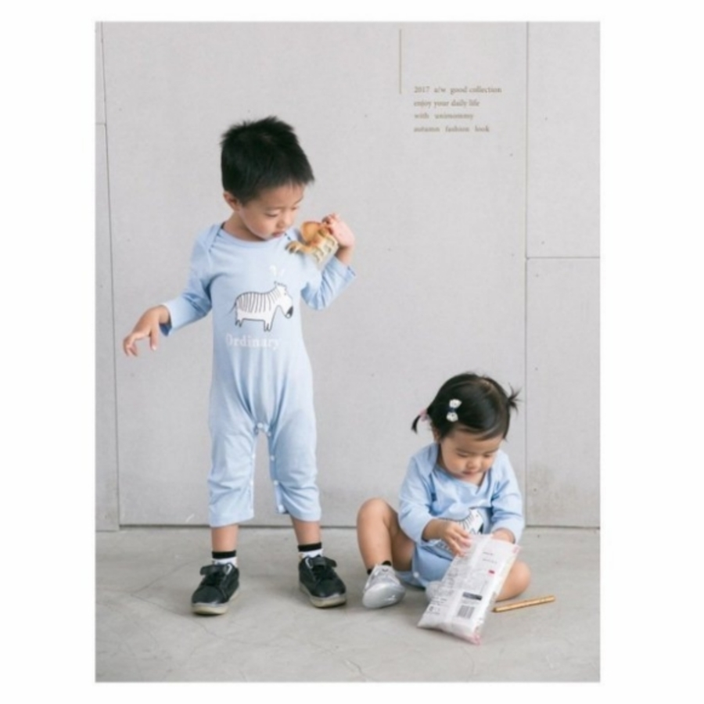 包屁衣 【BW0880】 寶寶連身裝 寶寶衣 純色 印花