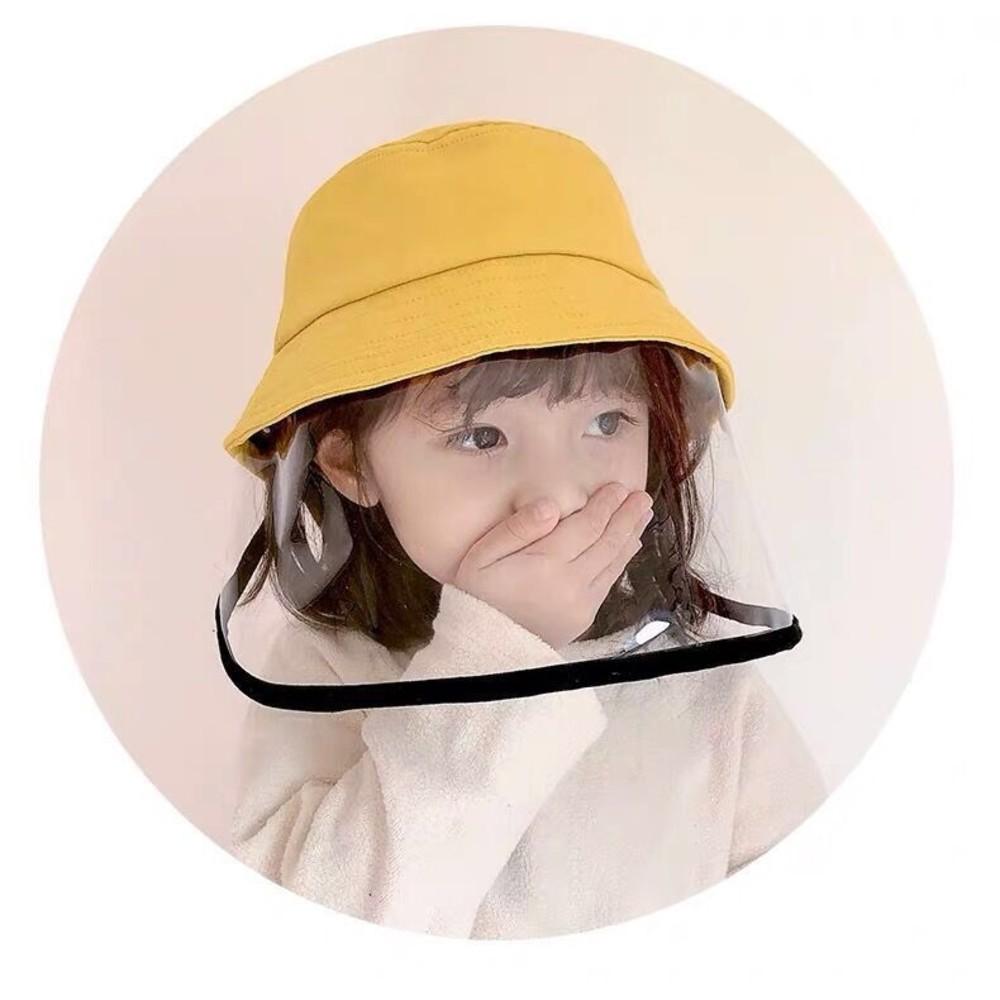 漁夫帽 防飛沫 防疫 面罩 防疫帽【BW1111】兒童 成人 寶寶 盆帽 遮陽 防曬 兒童帽 可拆