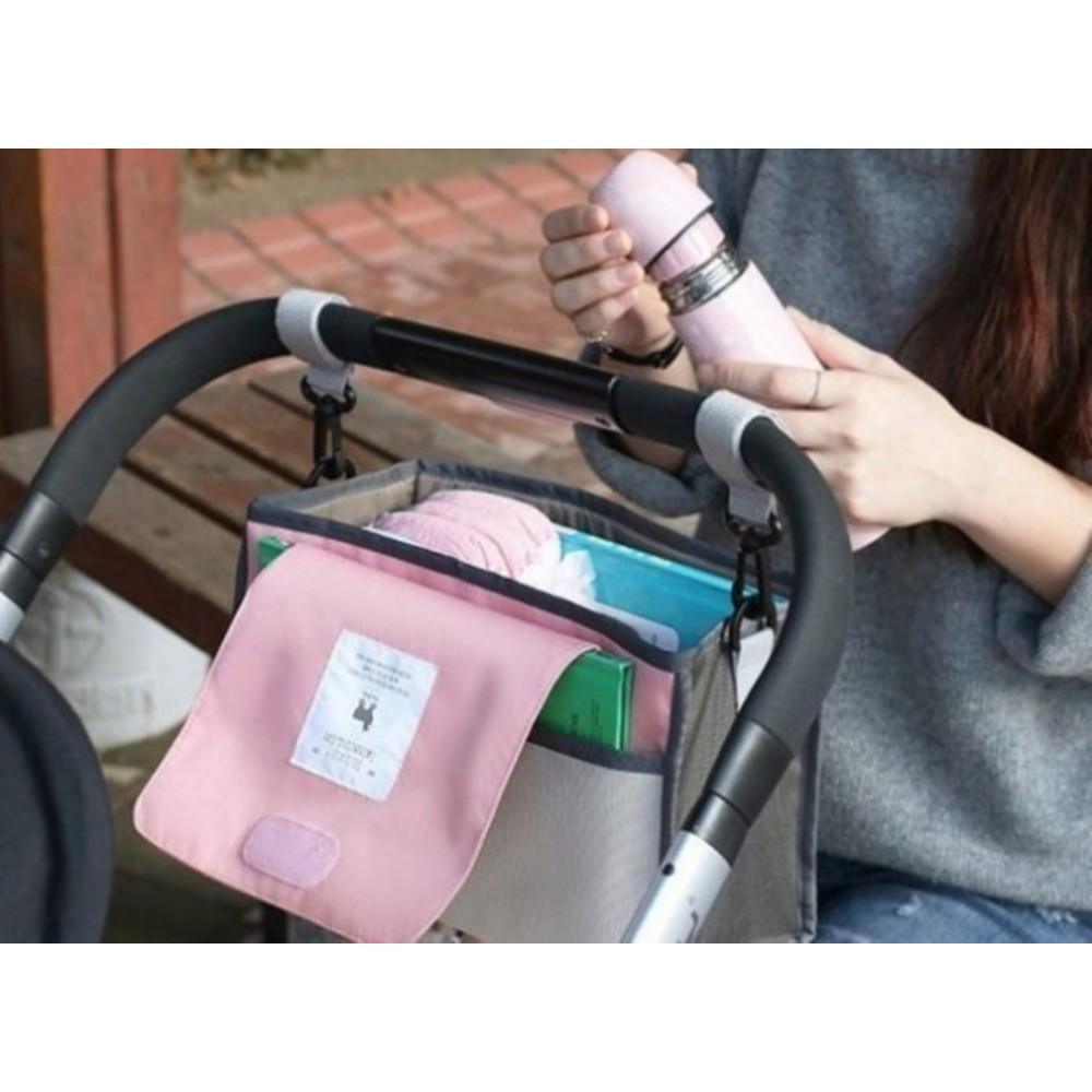 嬰兒車掛袋 【BW1200】 掛包 娃娃車 掛鉤 收納 掛袋 置物袋 媽咪包 推車 手推車