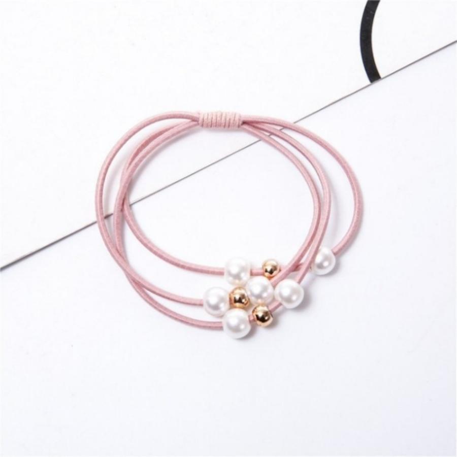 【BW1920SET】網紅三合一珍珠 髮圈 髮飾 十件組