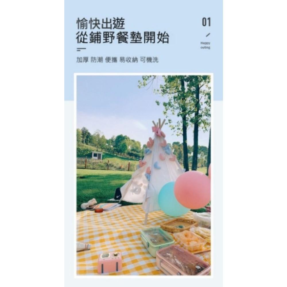 防水 防潮 加厚 野餐墊 【BW2020】 200X200 防潮墊 野餐布 不沾草 寶寶 遊戲墊