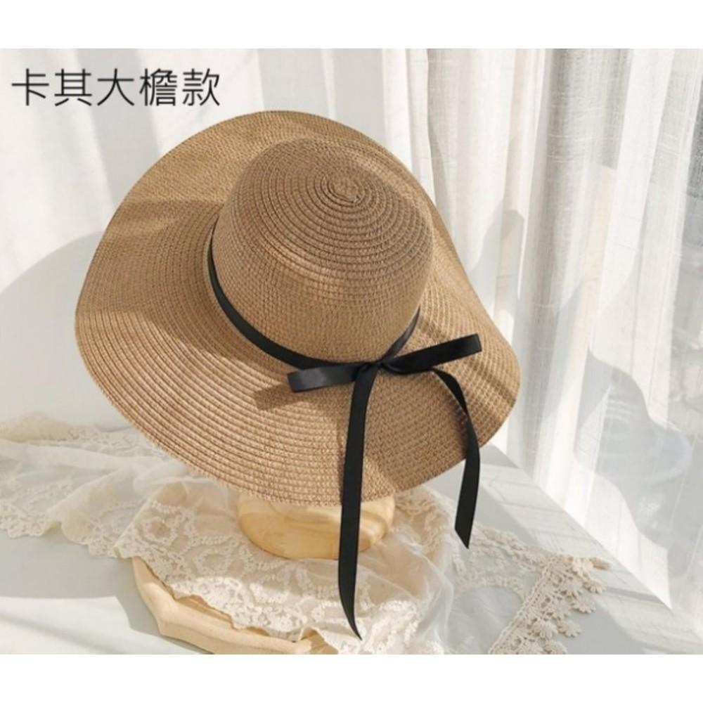 BW2138-韓系 沙灘帽【BW2138】 純色 大帽檐 遮陽帽 女性 成人 防曬 草帽