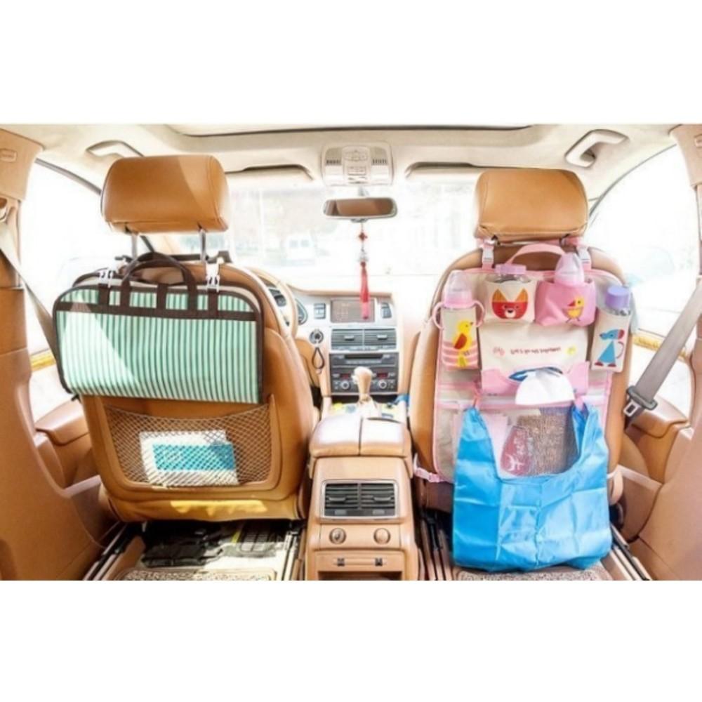 寶寶車用掛袋 【BW2200】 卡通 汽車用 椅背 掛袋 收納袋 置物袋 車座椅 折疊 掛式