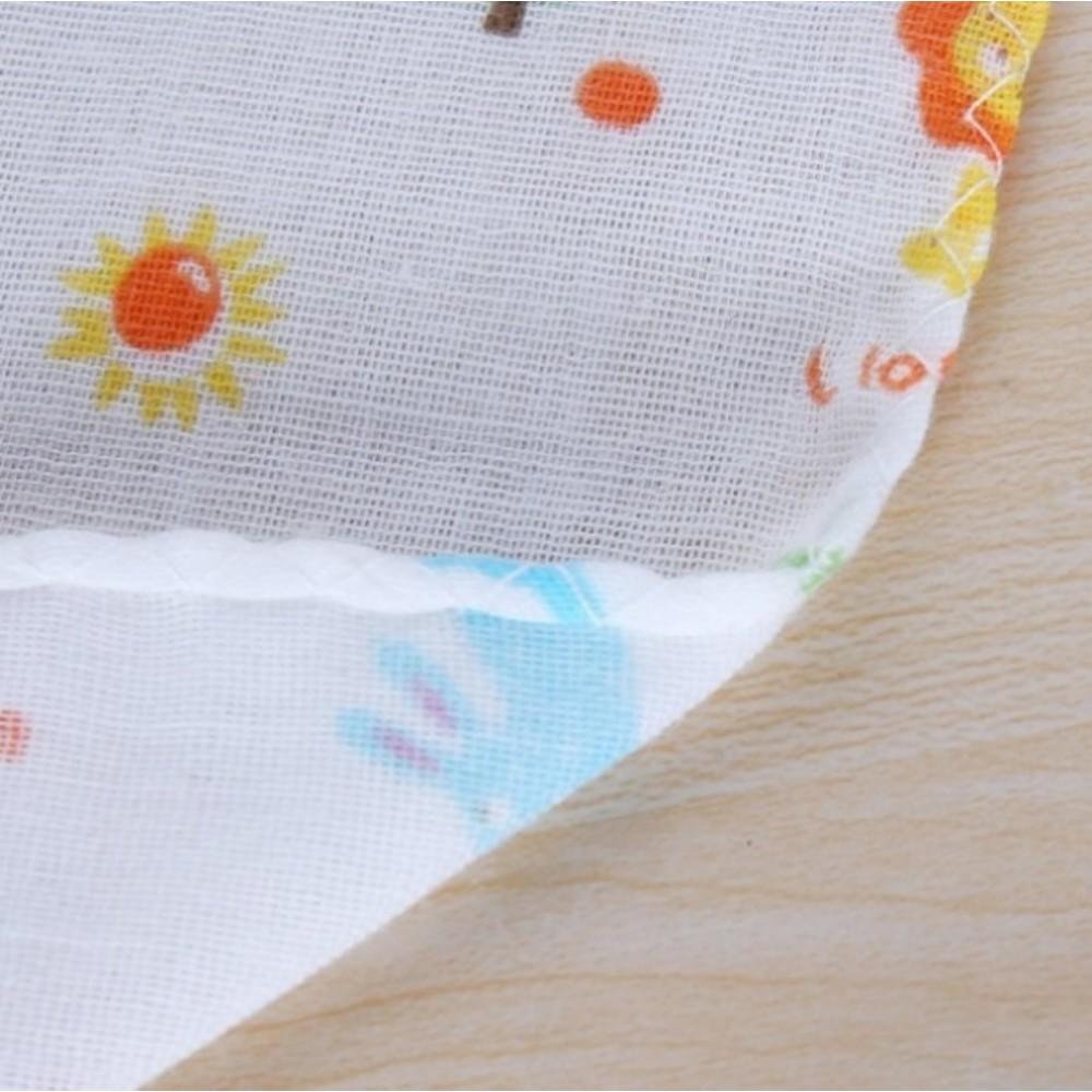 寶寶紗布方巾 【BW2560】 寶寶 紗布巾 純棉 雙層 紗布 手帕 口水巾 五條一組