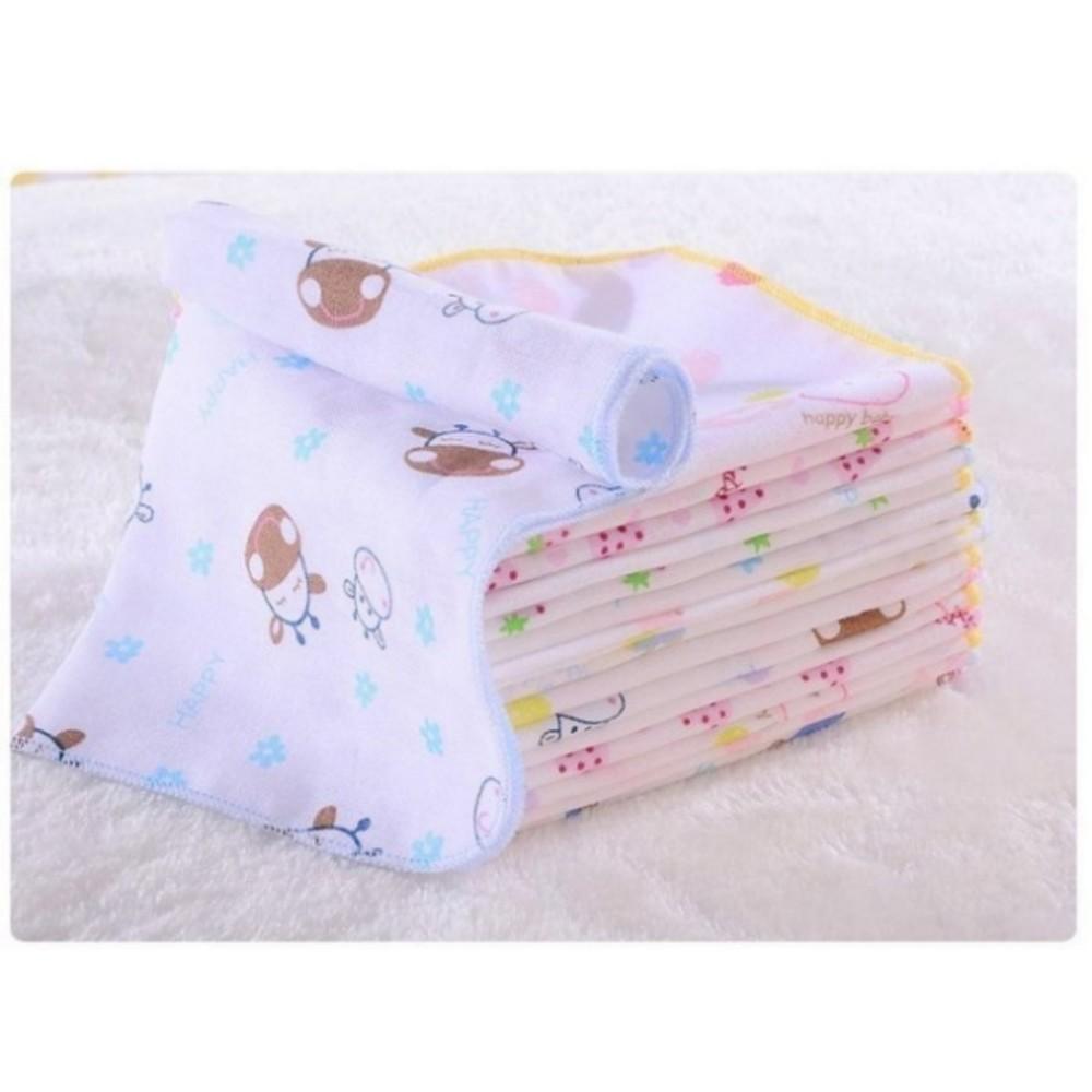 寶寶紗布方巾 【BW2626】 寶寶 紗布巾 純棉 雙層 紗布 手帕 口水巾 五條一組