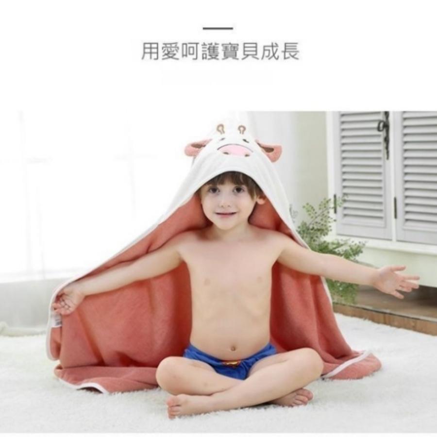 純棉浴巾 【BW3258】兒童 披風 抱被 嬰兒 連帽 斗篷 寶寶 純棉 斗蓬 沙灘浴巾