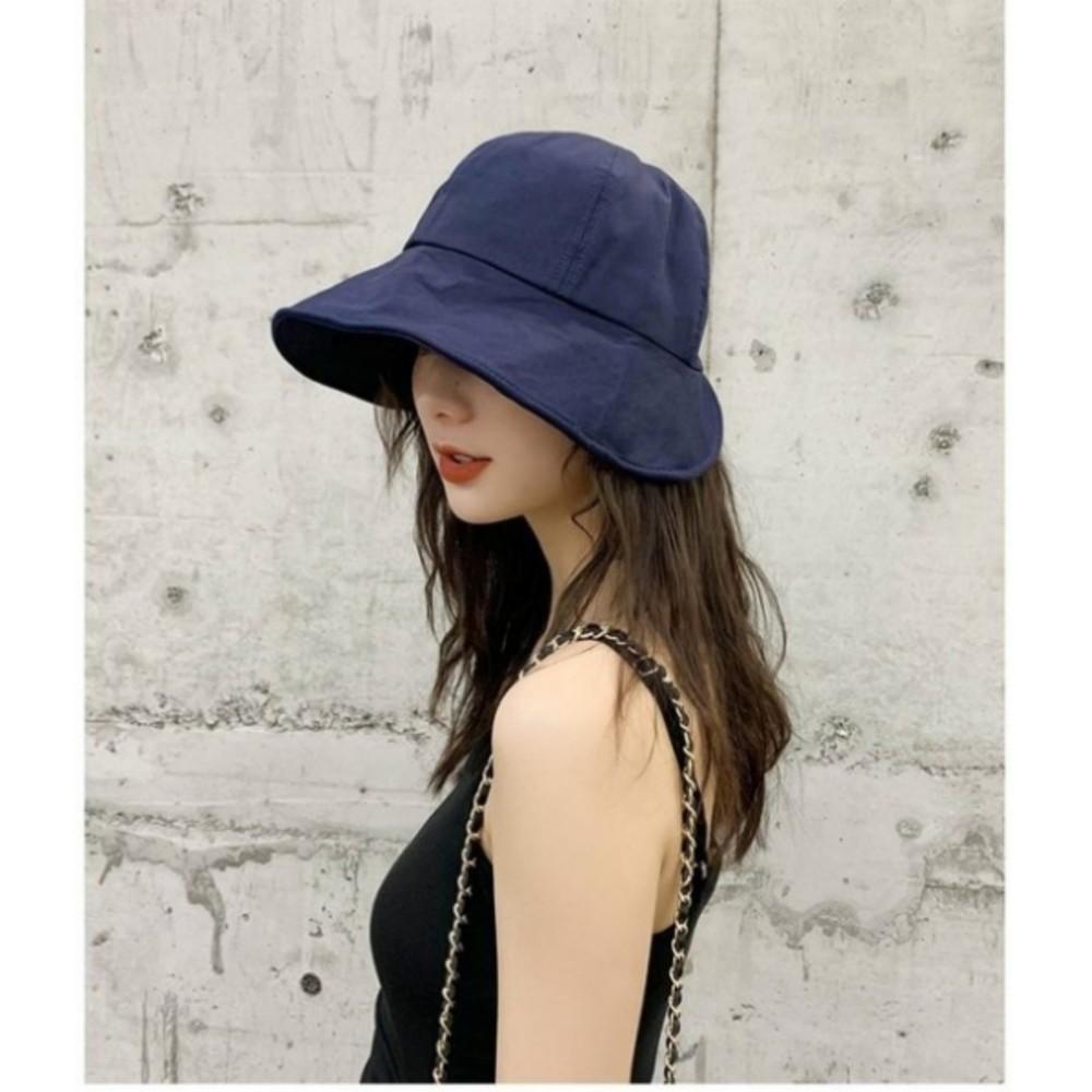韓系 質感 漁夫帽【BW3449】 遮陽帽 女性 成人 防曬 桶帽 大頭圍 盆帽 可折疊
