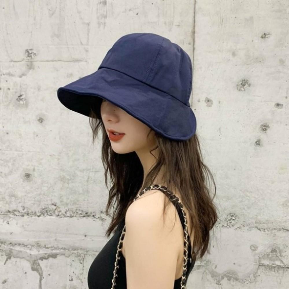 BW3449-韓系 質感 漁夫帽【BW3449】 遮陽帽 女性 成人 防曬 桶帽 大頭圍 盆帽 可折疊