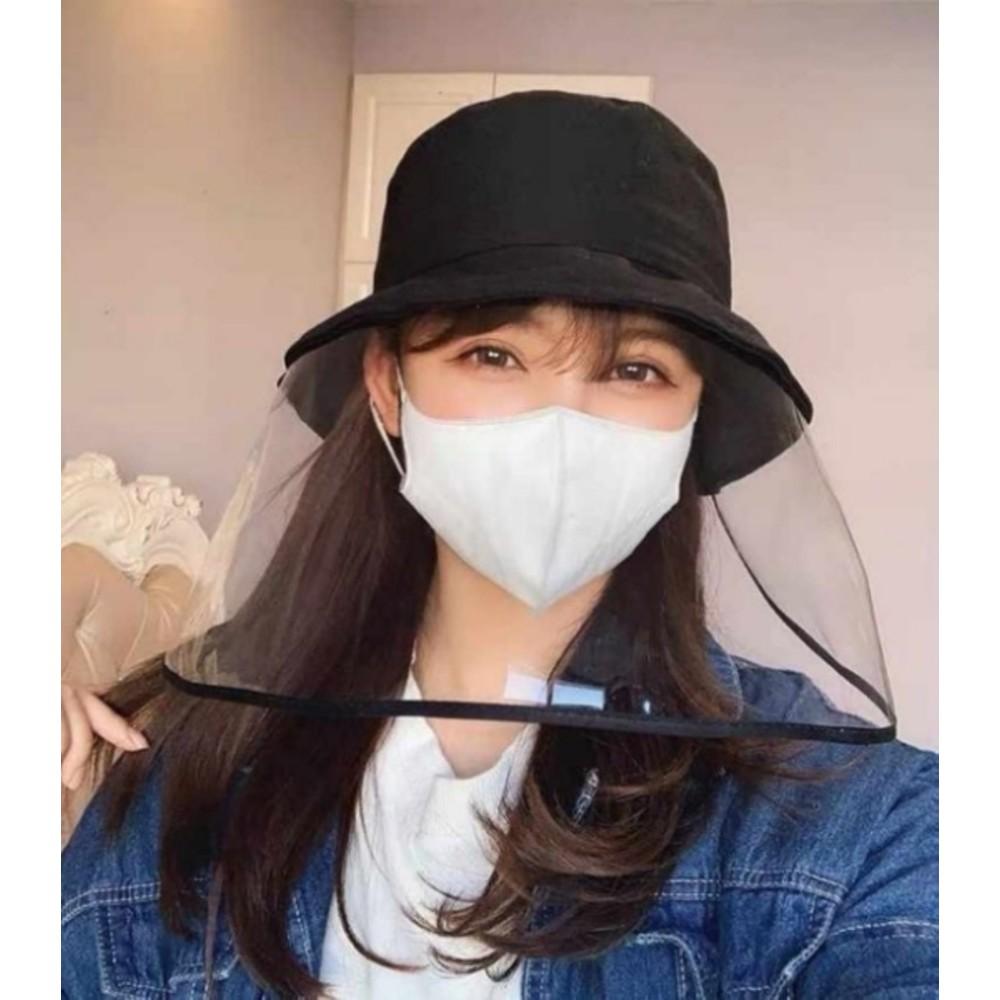 防飛沫漁夫帽【BW5152】 防飛沫 漁夫帽 可拆式 成人款 素面款