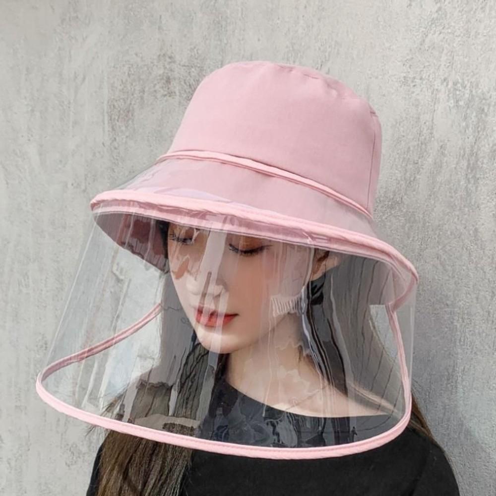 漁夫帽 防飛沫 防疫 面罩 防疫帽 【BW5856】成人 盆帽 遮陽 防曬 可拆