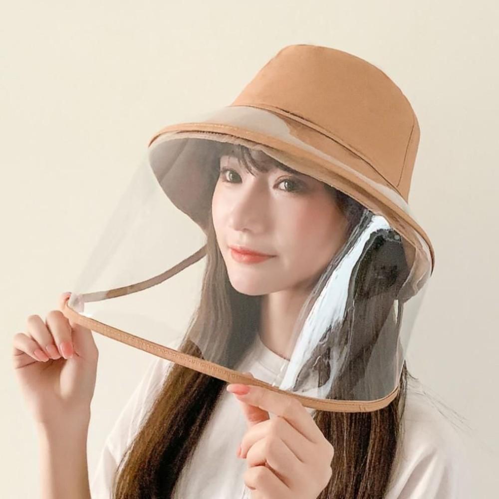 BW5856-漁夫帽 防飛沫 防疫 面罩 防疫帽 【BW5856】成人 盆帽 遮陽 防曬 可拆