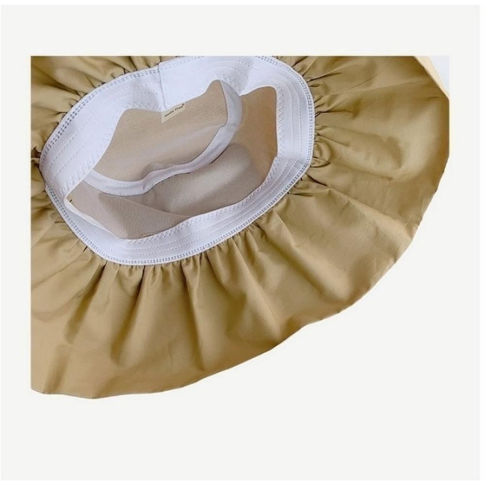 韓系 質感 漁夫帽【BW8137】 荷葉邊 遮陽帽 女性 成人 防曬 桶帽 漁夫帽