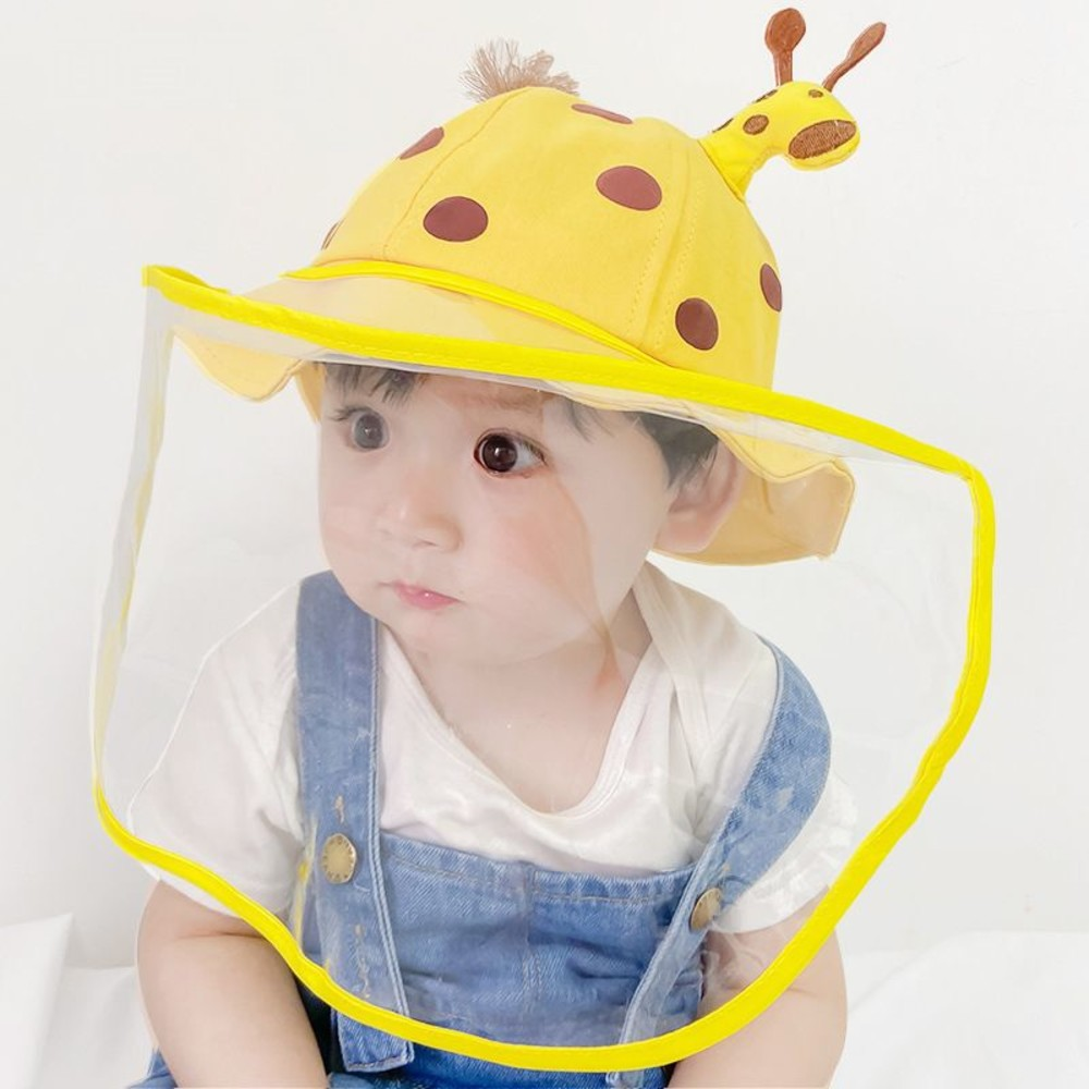 韓國超可愛防飛沫漁夫帽【BW9090】 鹿鹿 防飛沫 漁夫帽 可拆式 封面照片