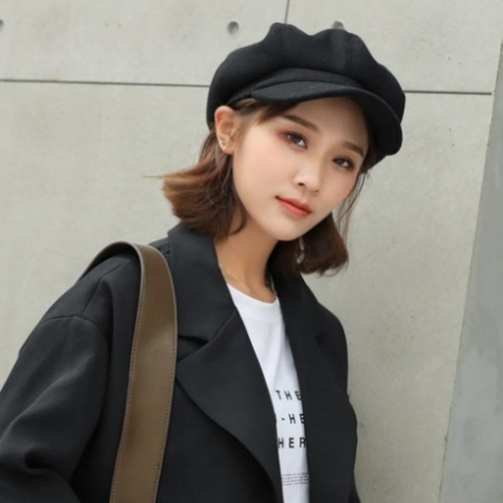 報童帽 【BW9600】貝蕾帽 英倫帽 小畫家帽
