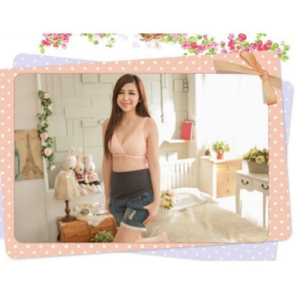 內衣 【Bra2660MIT】 無鋼圈 背心式 孕期&哺乳使用 台灣製精品專業交叉式哺乳內衣胸罩