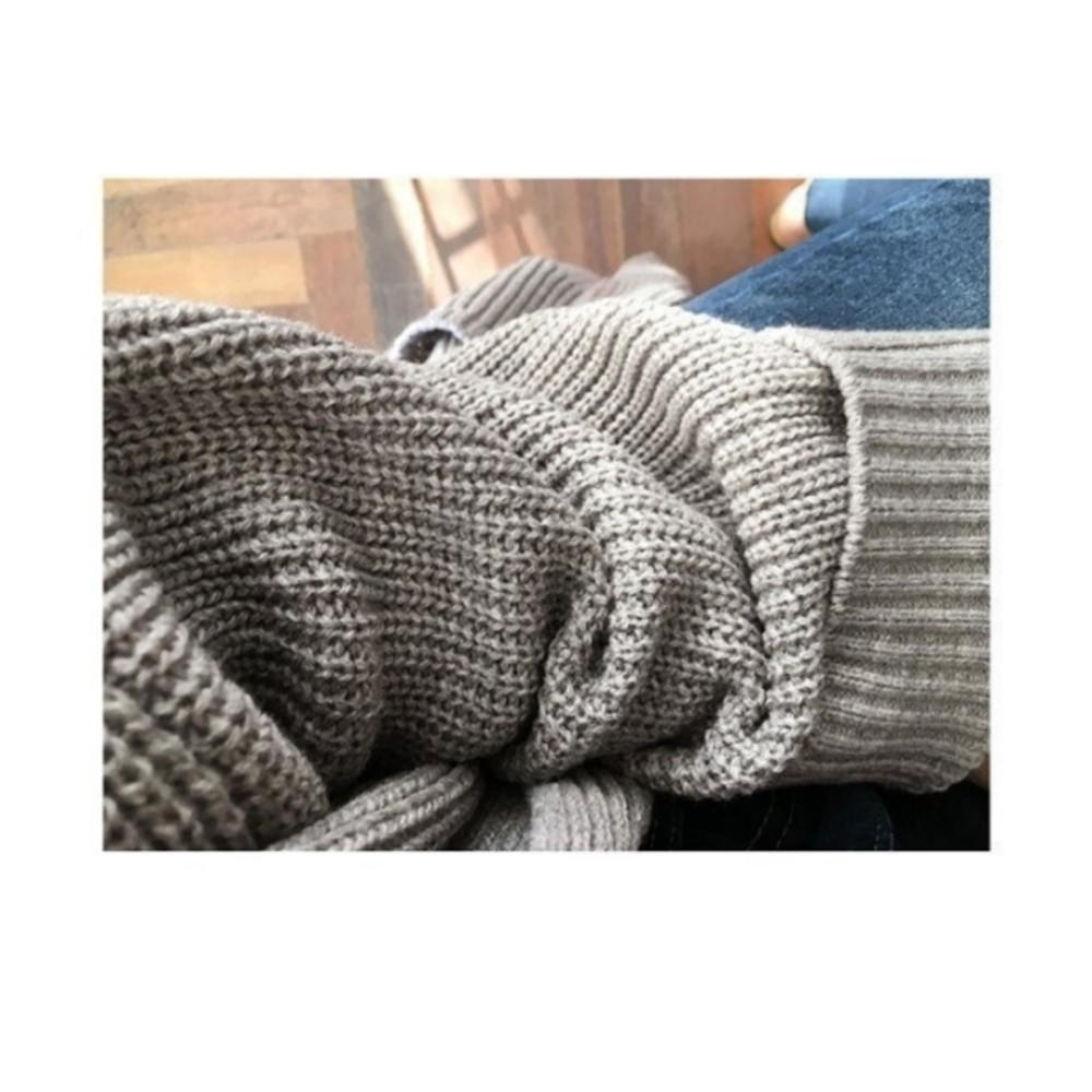 純色針織外套 【C5380】 寬鬆 毛衣 外套 針織 開叉 開襟 長版外套 孕婦裝