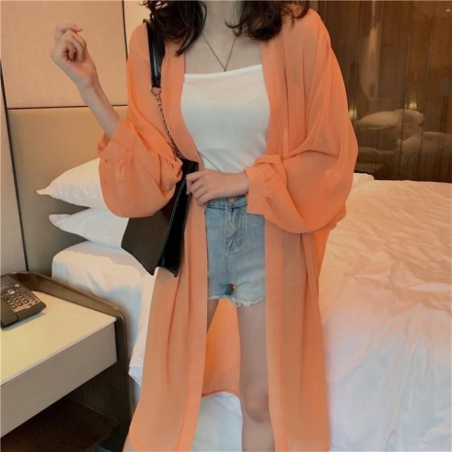 防曬衫【C8235】 防晒衫 雪紡開衫 薄款外套 防晒衣