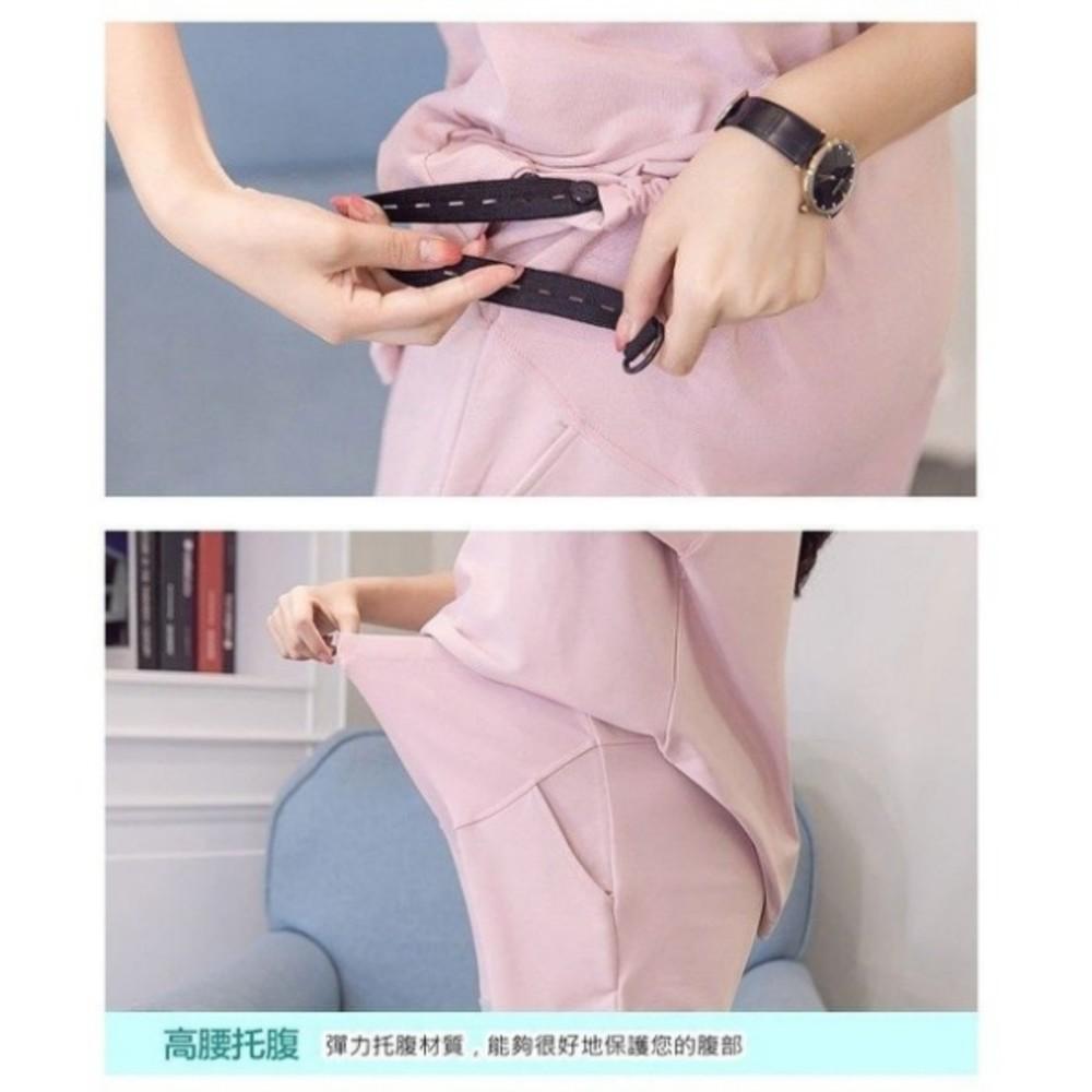 兩件式衣十褲 【CP0055】 孕婦裝 短袖 運動套裝 寬袖 托腹短褲