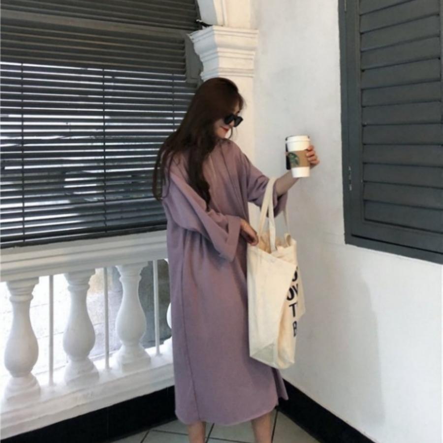 韓系連帽寬鬆洋裝 【D1263】 洋裝 寬鬆 連衣裙 韓