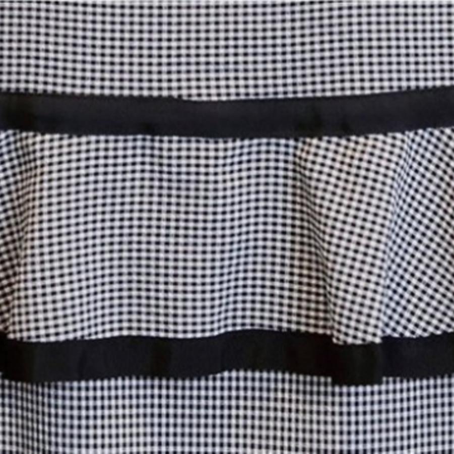 裸肩洋裝 【D2019】 韓系 格子 荷葉 V領 短袖 露肩 孕婦裝 洋裝 格紋 連身裙