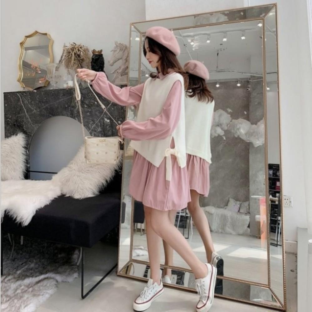 加大尺碼 XL碼 洋裝 【D3455】 甜美 洋裝 孕婦裝 荷葉洋裝 魚尾裙