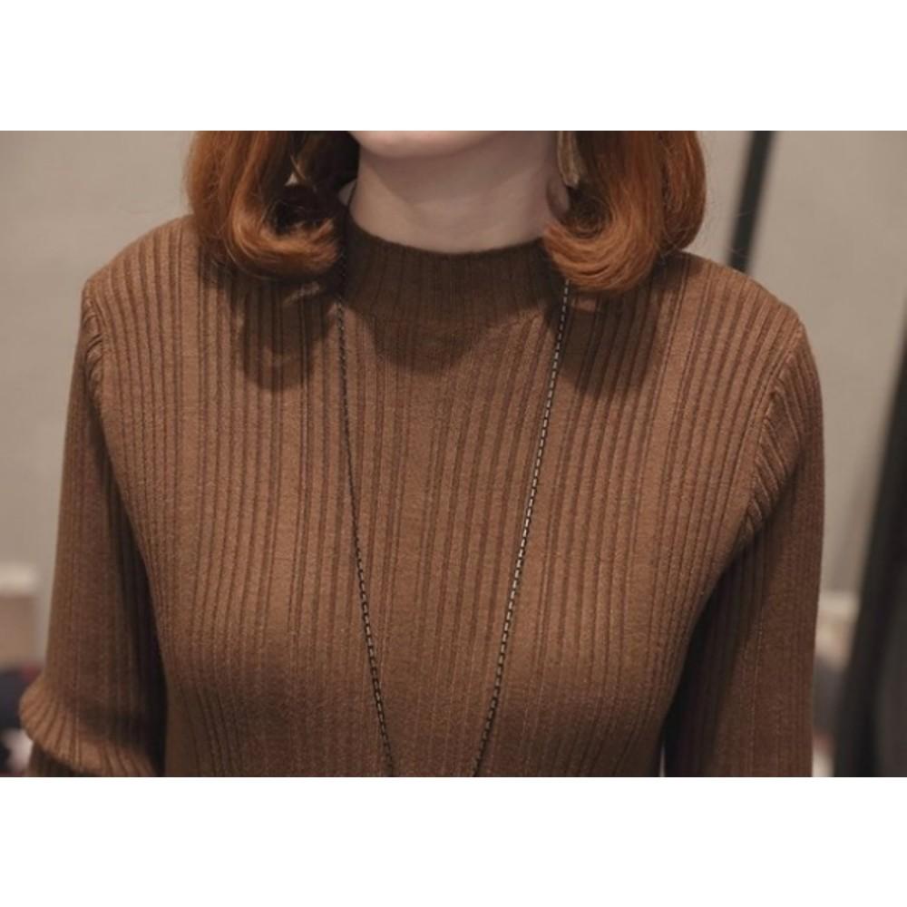 韓系坑條蕾絲針織洋裝 【D5099】 純色 長裙 長洋裝 毛衣 針織 孕婦裝