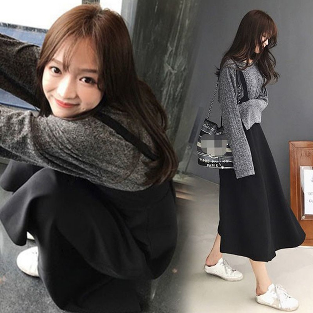 韓系 吊帶裙 套裝【DS3062】背心裙 套裝 吊帶洋裝 連身裙 封面照片
