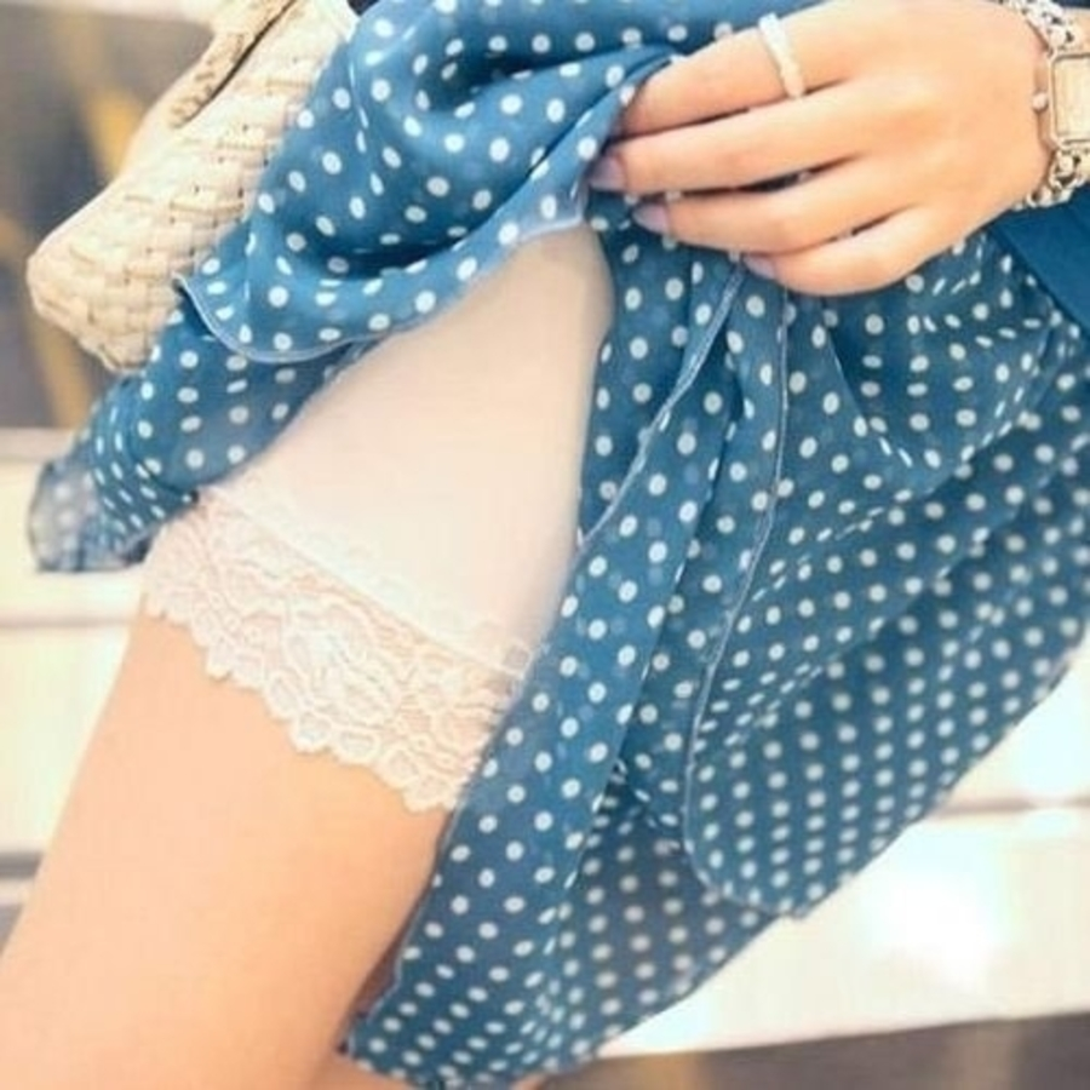 L1154-夏季托腹安全褲 【L1154】 孕婦 平口 蕾絲 防走光 托腹 安全褲 三分 孕婦褲 孕婦短褲