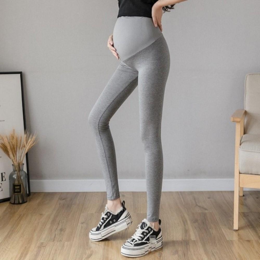孕婦內搭褲【L1188】孕婦褲 低腰 交叉 托腹 瑜伽 運動 九分褲