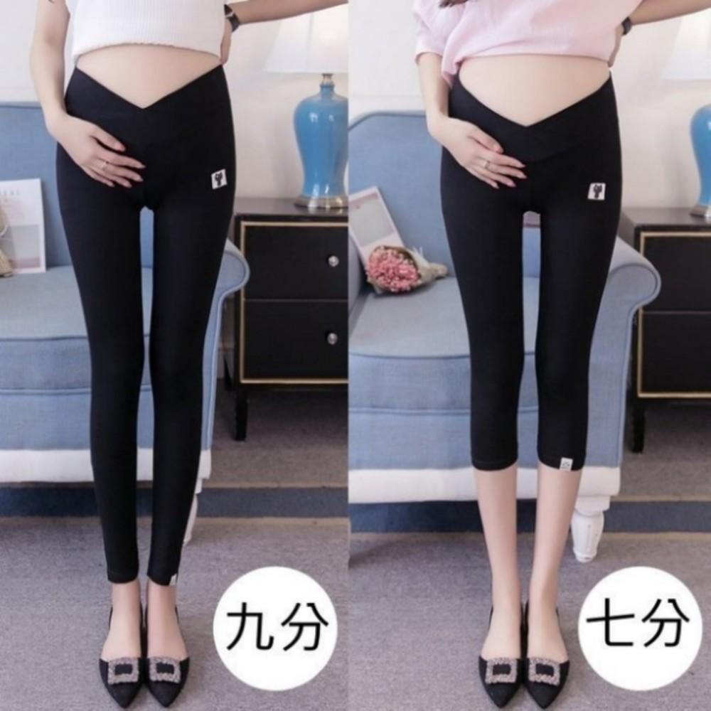 低腰 內搭褲 【L2111】九分 七分 三分安全褲 莫代爾 棉質 孕婦 內搭褲 孕婦褲 孕婦裝 封面照片