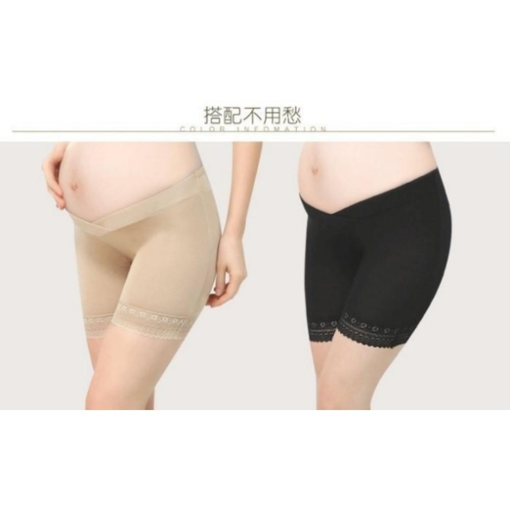 超柔軟 低腰 超親膚 交叉 安全褲 【LS4198】 輕薄款 防走光 莫代爾 孕婦 安全褲