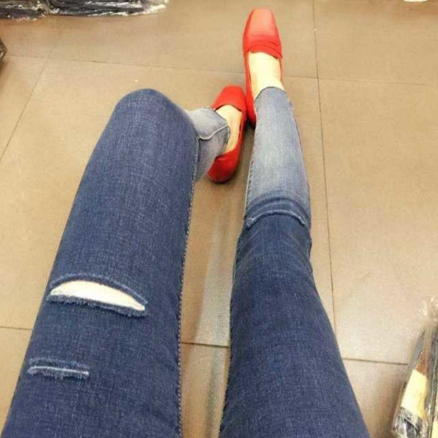 托腹牛仔褲 【P0142YS】 漸層 孕婦托腹褲 孕婦牛仔長褲 可調腰圍 封面照片
