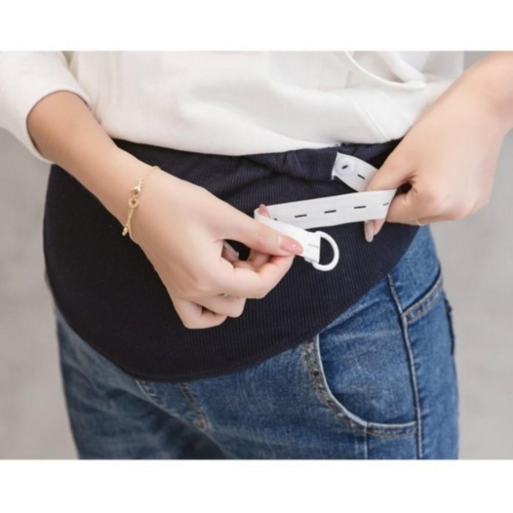 孕婦牛仔褲 【P0614】 貓爪 破洞 修身 牛仔 托腹 長褲 孕婦裝 托腹牛仔褲