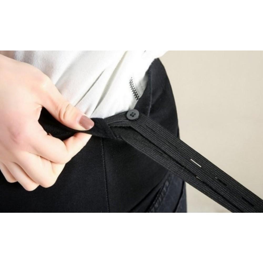 牛仔褲【P1276】 高腰 托腹褲 九分褲 哈倫褲 老爺褲 M-XXXXL 孕婦牛仔褲 加大尺碼