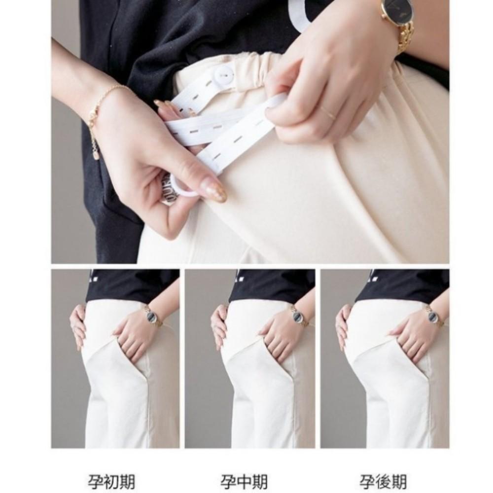 托腹寬褲 【P1415】 泡泡麻 托腹 寬褲 九分褲 褲裙 孕婦褲 孕婦托腹褲 孕婦裝