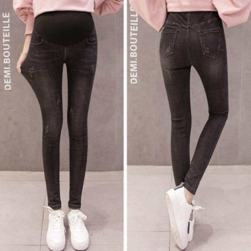 托腹褲 【P2166】 孕婦 牛仔褲 孕婦裝 直筒 寬鬆 長褲 男友褲托腹褲 愛上軟牛仔