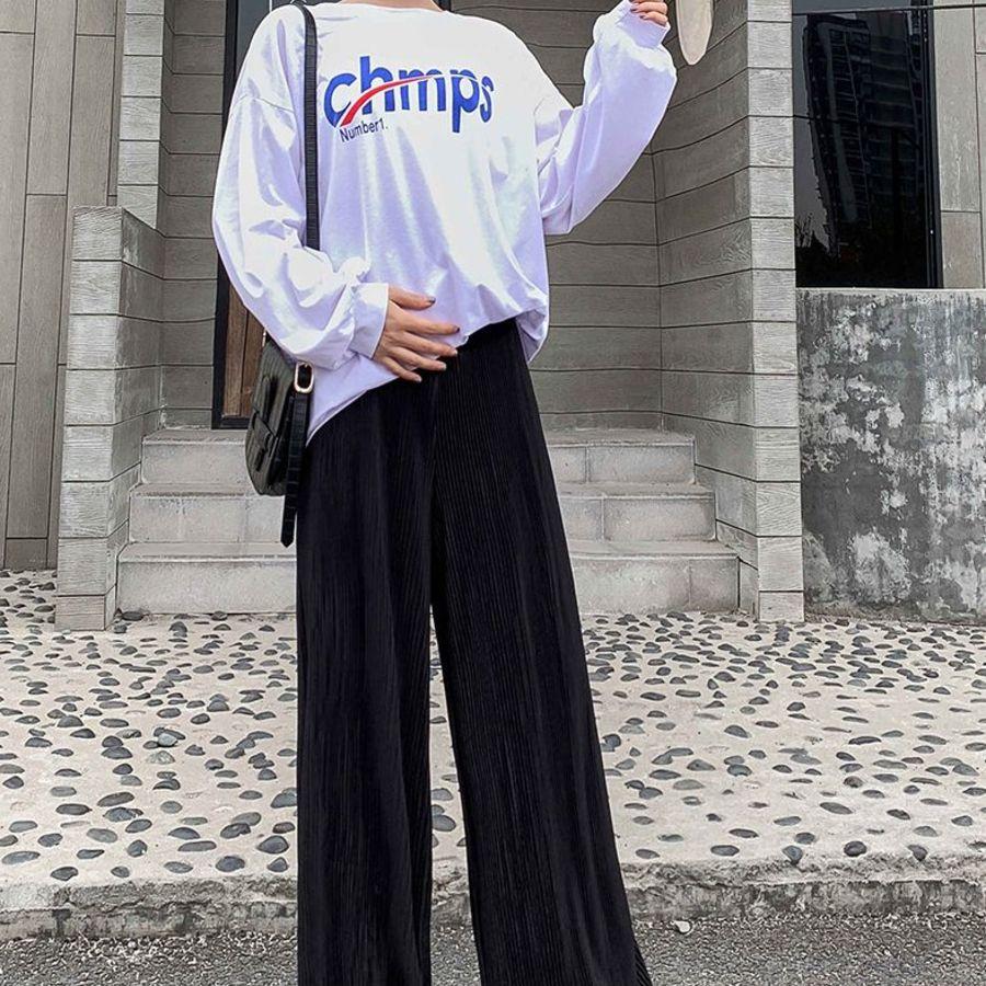 實拍 孕婦 寬褲【P5100】 百褶 寬鬆 高腰 托腹 孕婦寬褲 長褲