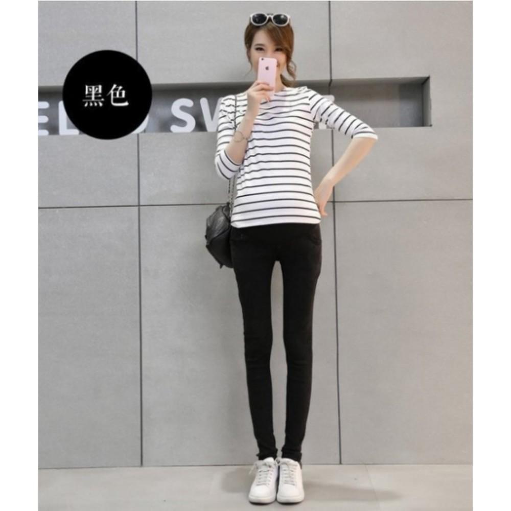 彈力托腹褲 【P6312UK】孕婦褲  高腰托腹 小腳褲 孕婦托腹褲 孕婦牛仔褲