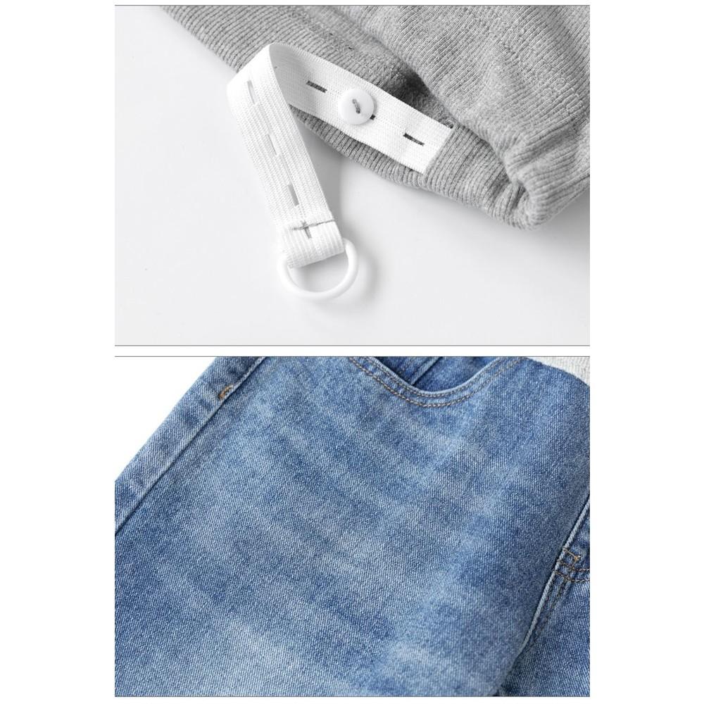 孕婦牛仔褲 【P9011】 寬鬆 老爹褲 牛仔 托腹 長褲 孕婦裝 托腹牛仔褲 老爺褲 哈倫褲