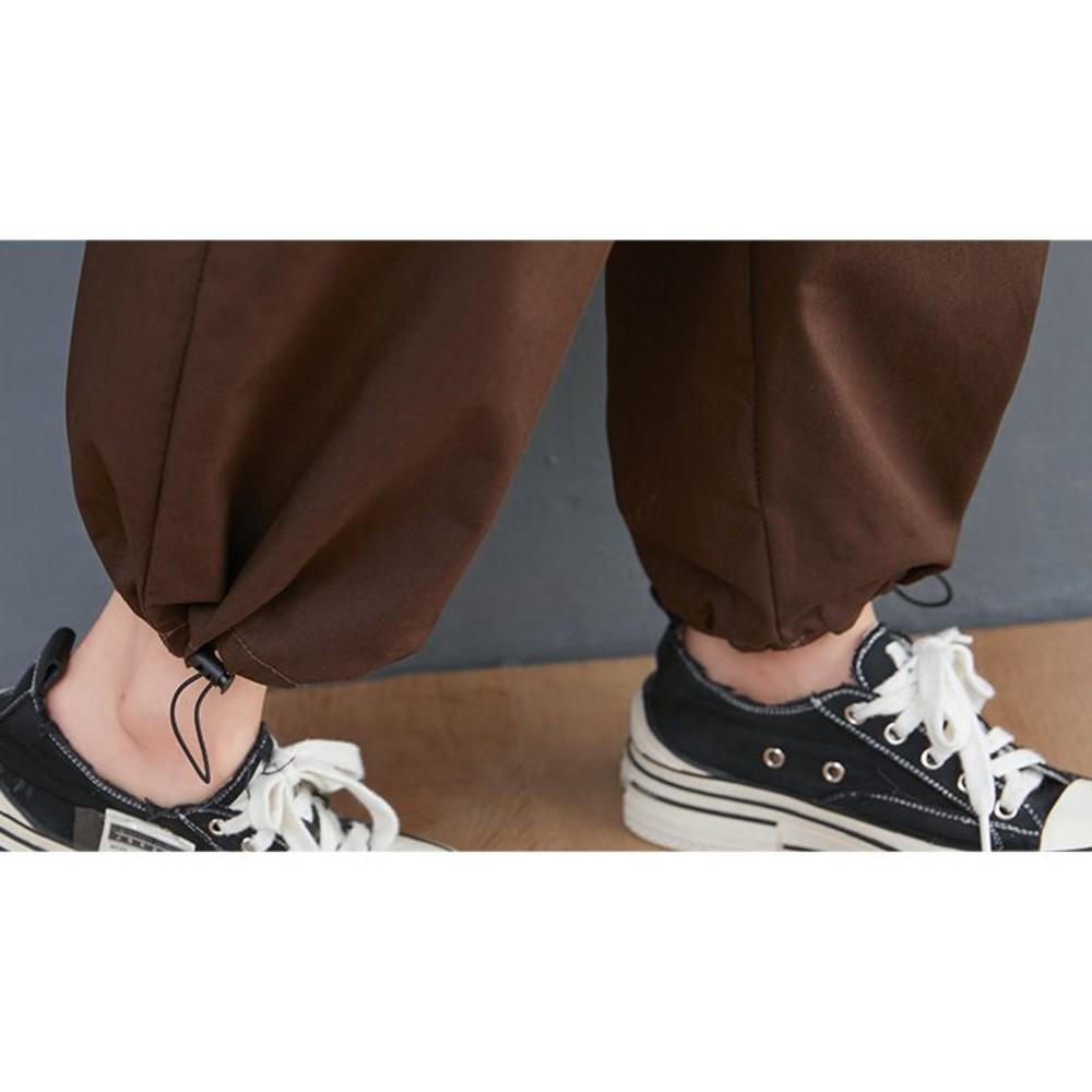 實拍 文藝 寬鬆 背帶褲【PP0328】直筒 縮口 吊帶褲 連身褲