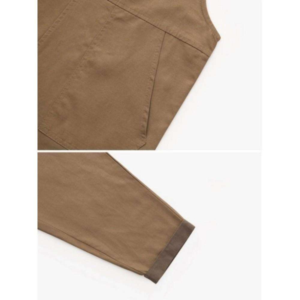 韓系吊帶褲【PP3349】 休閒 吊帶 寬褲 九分褲 韓 背帶褲 連身褲 女裝