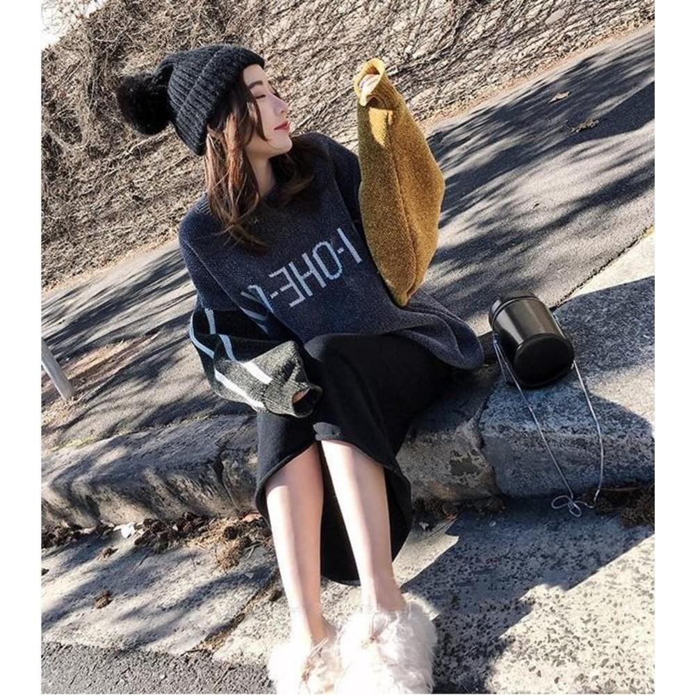 孕婦托腹半身裙【S5001】秋冬季休閒外穿時尚孕婦裙子中長款可調節