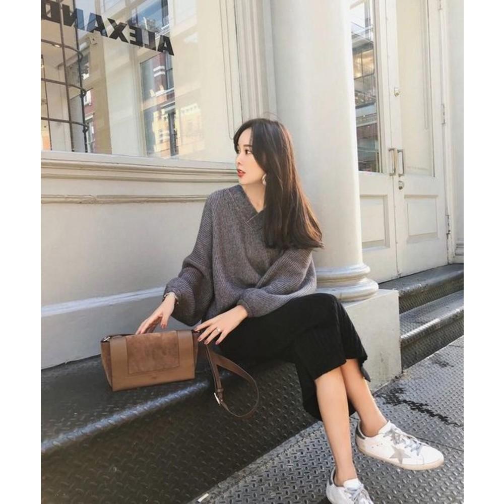 韓系 實拍 孕婦 半身裙 【S5342】坑條 針織 開岔 長裙 秋冬 針織裙 包臀裙