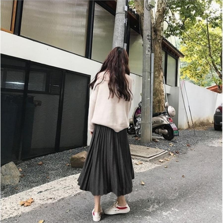 韓國托腹裙 【S5788】 質感 百褶 保暖 毛呢 中長裙 托腹 半身裙 長裙 孕婦裙 孕婦裝