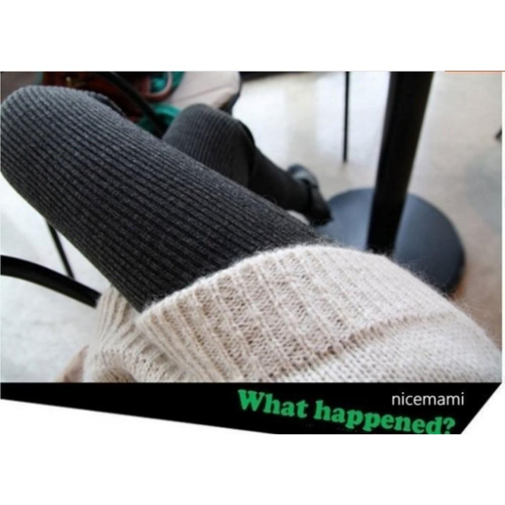 條紋孕婦褲襪 【T6003CH】 孕婦裝 托腹 褲襪 秋冬 加厚 針織棉 超彈性 褲襪 調整扣鬆