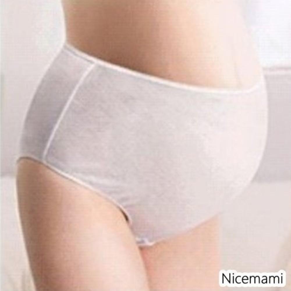 月子必備內褲 【U0031PINK】 麗子 棉質免洗褲 產婦型 孕婦高腰款免洗內褲 5入 封面照片